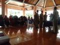 Danramil 0815/02 Trowulan Bersama Forpimka Hadiri Pelantikan Perangkat Desa Bejijong
