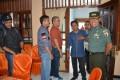Danrem 082/CPYJ Sambangi Kantor KPU Kota/Kabupaten Mojokerto