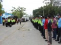 Antisipasi Ribuan Seporter Persela Dan Persija di Stadiun Surajaya Lamongan, TNI Polri Siagakan ratusan Personil