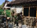 Kebersamaan TNI Dengan Rakyat Dalam Bangun Rumah Tidak Layak Huni (RTLH)