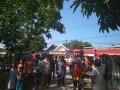 Ditinggal Mengantar Motor Dan Sekolah, Rumah Dilalap Si Jago Merah