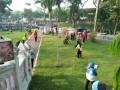 Bersih-Bersih Masjid An Nur Pare Jelang Bulan Ramadhan