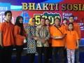 Bhakti Sosial 5.000 Paket Sembako, Jelang Bulan Ramadhan