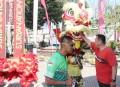 Sejuta Aksi Barongsai Iringi Warnai Launching Brawijaya Cycling Club