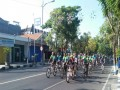 Ratusan Peserta Fun Bike Memadati Makodim 0812 Lamongan, Dalam Rangka Lounching Brawijaya Cycling Club