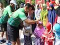 Santunan Anak Yatim Di Panggung Hiburan Kediri Road Bike