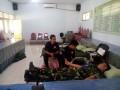 Partisipasi Koramil 0815/13 Kutorejo Dalam Baksos Donor Darah