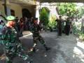 Dandim Pimpin Upacara Pemakaman Secara Militer Kepada Anggota Kodim 0812 Lamongan