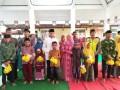 Muspika Plosoklaten Bersama 100 Anak Yatim, Warnai Bulan Ramadhan