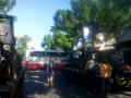 Bus Terjang Sepeda Motor ,1 Orang Dinyatakan Meninggal Ditempat