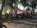 Mantapkan Kemanunggalan TNI-Rakyat, Koramil Kanor Dan Warga Desa Piyak Karya Bakti Peduli Lingkungan