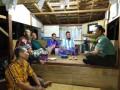 Ciptakan Rasa Aman, Babinsa Gedongombo  Ronda Bersama Warga Paska Lebaran