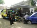 Akibat Laju Kecepatan Tinggi, Mobil Tabrak Sepeda Motor Di Ngadiluwih
