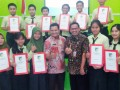 Seorang Anak Prajurit TNI Berhasil Menembus NUN SMPN Tertinggi Di Kediri