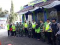 Sinergitas TNI Polri dalam memberikan kenyamanan bagi pemudik jelang Hari Raya Idhul Fitri 1439 H di wilayah Lamongan