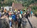 Hari Libur Bukan Halangan, Satgas TMMD Mojokerto Tetap Berkarya