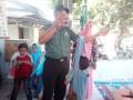 Babinsa Koramil 0814/01 Jombang Bantu Pelaksanaan Posyandu
