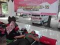 Dandim 0815 Mojokerto Beserta Anggota Sumbangkan Darah Di Hari Bhayangkara