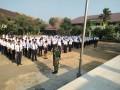 Secara Serentak Koramil Jajaran Kodim Kediri Latih Baris Berbaris Di Masa MPLS