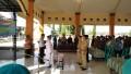 Bersama Forpimka Danramil Dawarblandong Hadiri Pelantikan Perangkat Desa Cendoro