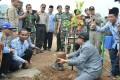 Ribuan Pohon Hijaukan Lahan Kritis Di Lokasi TMMD Desa Jembul