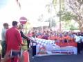 HUT Bhayangkara Warnai Olahraga Bersama