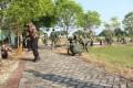 Kenang Jasa Pahlawan, Kodim Bojonegoro Karya Bakti Di TMP Kusuma Bangsa