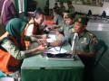 Bakti Sosial Donor Darah Dalam Rangka HUT Korem 082/CPYJ Ke 70 Di Kodim 0812/ Lamongan