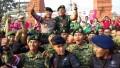Gerak Sinergitas TNI – Polri Gemu Famire Di Hari Bhayangkara