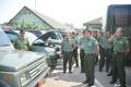 Kolonel Budi Sidak Kendaraan Dinas Anggota Korem 082