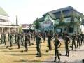 Pembinaan Kedisiplinan Prajurit Kodim 0812/Lamongan Dalam Minggu Militer