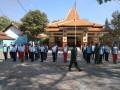 Latih Kesiapan Kader Paskibraka Di Tingkat Kecamatan, Babinsa Jajaran Kodim 0812 Lamongan Gencarkan Latihan