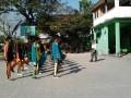 Gembleng Pelatihan Paskibraka Ditingkat Kecamatan Oleh Babinsa 0812/19 Laren