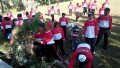 Koramil Kunjang Bersama Polsek Kunjang Bersih-Bersih Desa Menyambut HUT RI