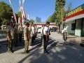 Sinergitas TNI-Polri Dalam Kerja Bakti Pembersihan Markas