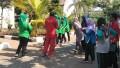 Gelaran Aneka Lomba dan Senam Bersama Sambut HUT ke 73 RI  di Kecamatan Widang