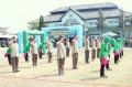 Kodim Lamongan Gelar Lomba   Tari Gemu Famire  dalam rangka memperingati HUT TNI Ke-73
