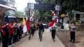 Danramil Trawas Bersama Forpimka Lepas Pemberangkatan Ekspedisi Merah Putih