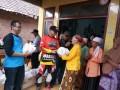 Dandim 0815 Mojokerto Gandeng IMM Baksos Di Desa Jembul