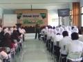 Kasdim 0815 Mojokerto Bekali Wasbang Mahasiswa STIKes – Poltekkes Majapahit