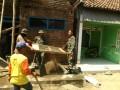 Sambut HUT Ke-73 TNI, Kodim 0815 Renovasi Rumah Pejuang Veteran