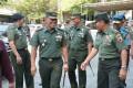 Danrem 082/CPYJ Dampingi Kasdam V/Brawijaya Cek Kesiapan Ziarah Panglima TNI