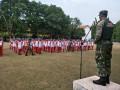 Koramil 0814/01 Jombang Tanamkan Disiplin Siswa STM
