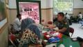 Kodim 0812 Lamongan Selenggarakan Donor Darah Jelang Peringatan HUT TNI Ke – 73