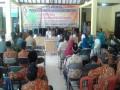 Danramil 0815/11 Bersama Forpimka Saksikan Pelantikan Perangkat Desa Randuharjo