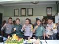 HUT Ke-73 TNI, Ini Kejutan Kapolres Mojokerto Di Makodim 0815