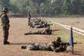 Asah Kemampuan Kodim 0815 Latih Prajurit Menembak