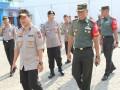 TNI Polri Perketat pengamanan dalam kunjungan kerja Presiden RI di kab Lamongan