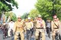 Bersama persatuan purnawirawan Polri cabang Lamongan, Kapolres dan Dandim 0812 selenggarakan Fun Bike And OLD