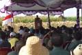 Waaster Kasad Dampingi Dirjen Kementan RI Panen Raya Jagung Di Tuban